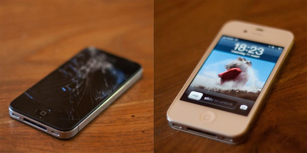 iPhone: voor en na