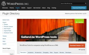 Galland.be WordPress Plugin